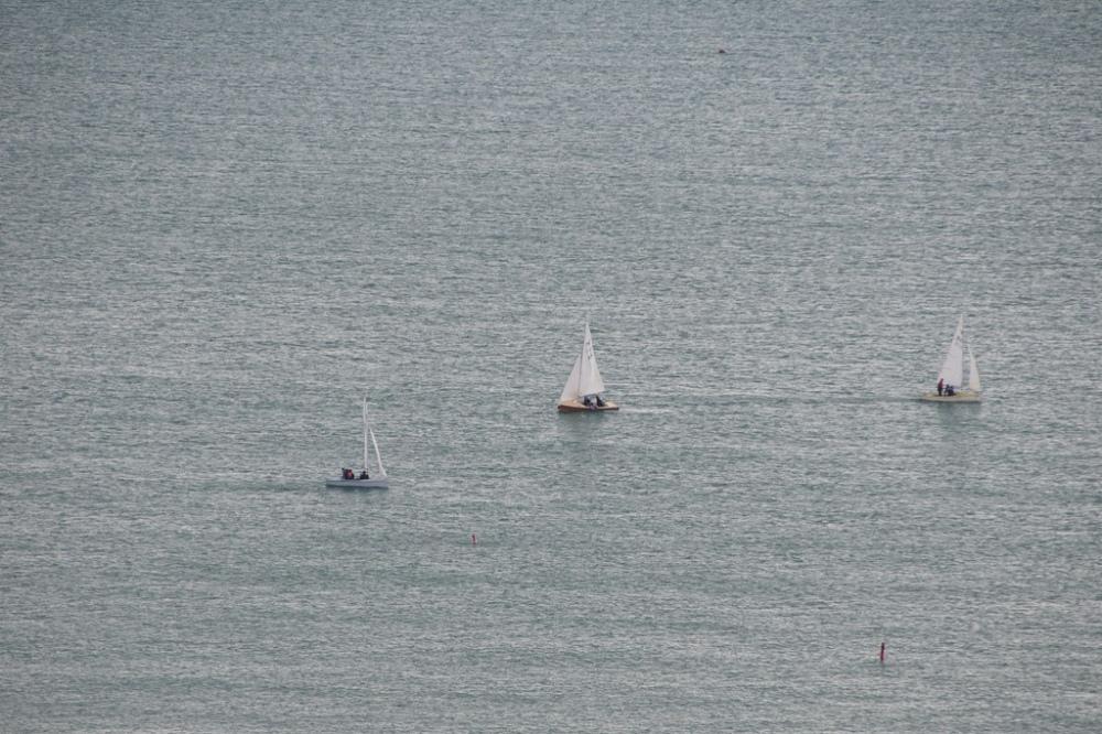 Sailing between Dover and Calais