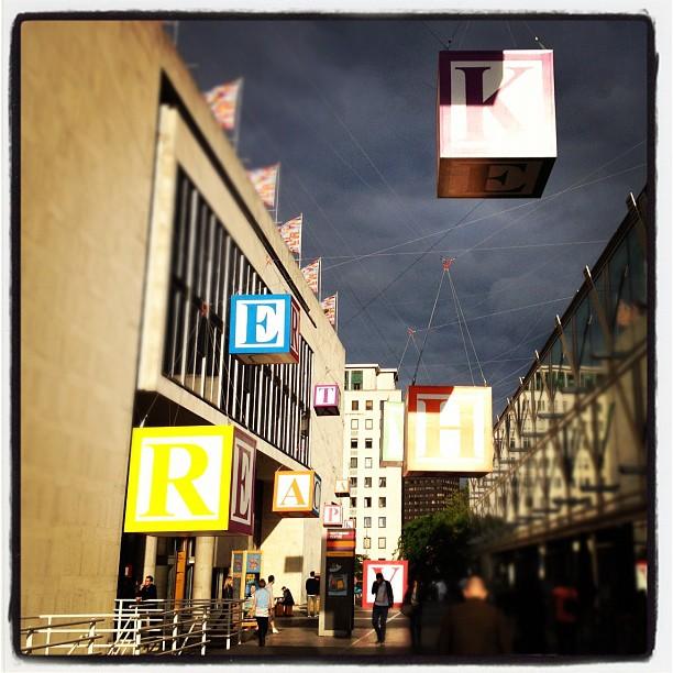 Blocks in the sky