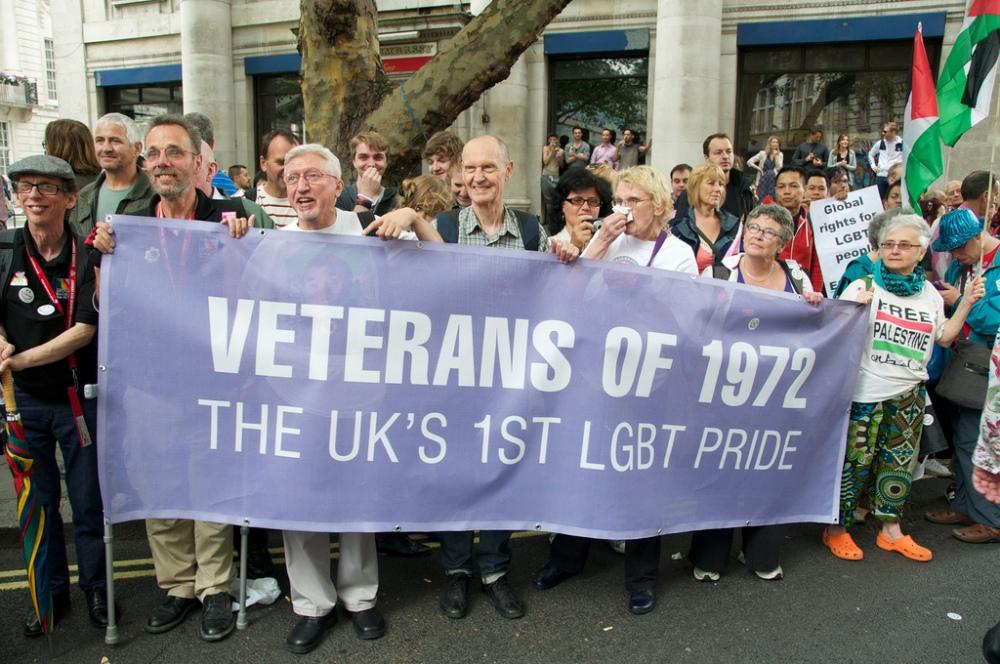Veterans of 1972 - 40 years of Pride