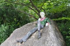 Statue of Oscar Wilde in Dublin