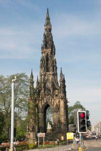 Monument to Scottish author Sir Walter Scott