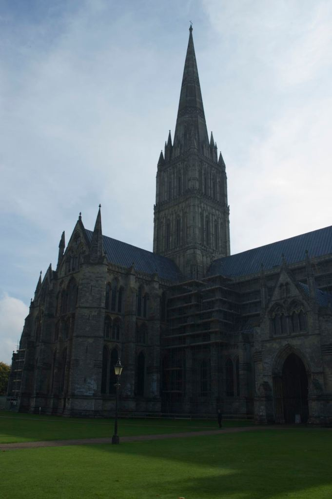 Winchester Cathedral, consecrated in 1093, saw many alterations over the centuries.