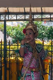 A Dancer at the Erawan Shrine