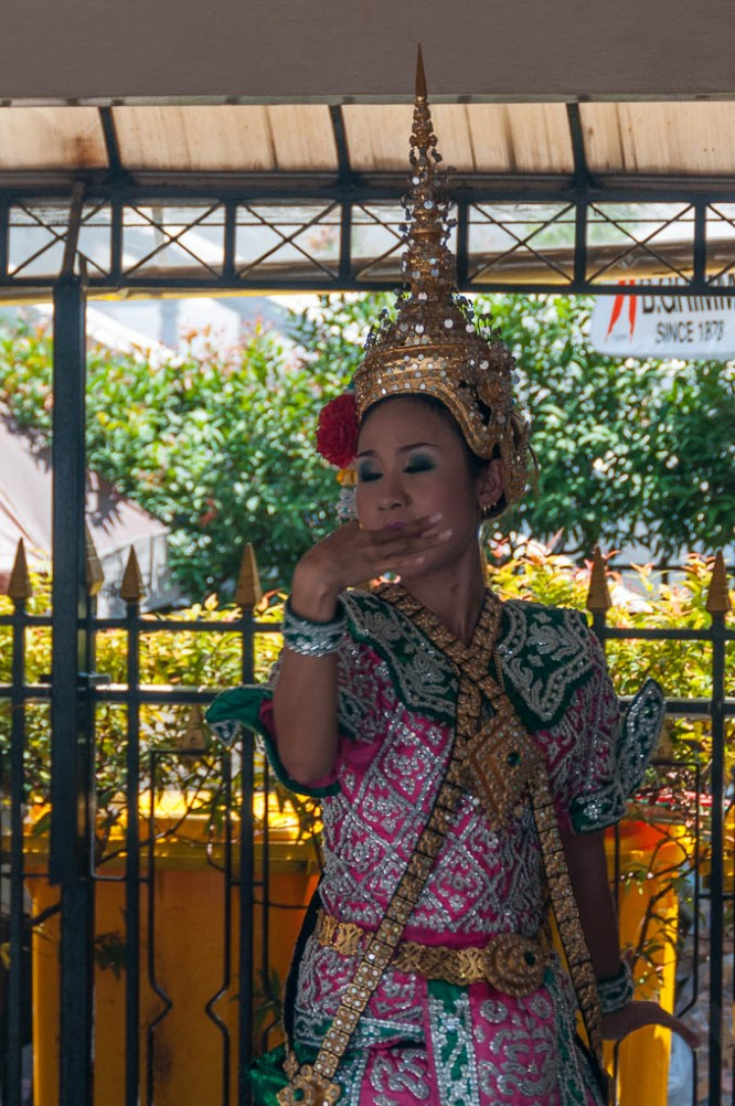 A Dancer at the Erawan Shrine