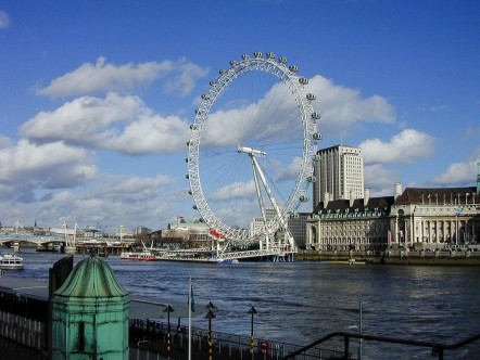 London in February 2002